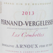 阿诺父子酒庄康宝特(佩尔南-韦热莱斯村)白葡萄酒(Domaine Arnoux Pere Et Fils Les Combottes, Pernand- Vergelesses, France)