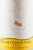 传承橡木酒庄霞多丽干白葡萄酒(Heritage Oak Chardonnay, Lodi, USA)