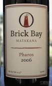 布里克湾灯塔干红葡萄酒(Brick Bay Pharos,Matakana,New Zealand)
