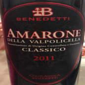 本尼德缇酒庄经典阿玛罗尼红葡萄酒(Benedetti Amarone Della Valpolicella Classico,Veneto,Italy)