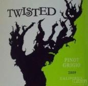 德利卡翠丝藤灰皮诺干白葡萄酒(Delicato Family Vineyards Twisted Pinot Grigio,California,...)