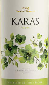 卡乐士酒庄麝香甜白葡萄酒(Karas Sweet Muscat,Armavir,Armenia)