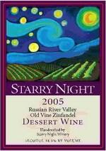星夜老树仙粉黛甜红葡萄酒(Starry Night Winery Old Vine Zinfandel Dessert Wine,Russian ...)