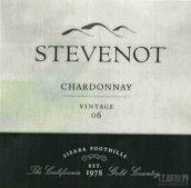 史蒂夫诺特霞多丽干白葡萄酒(Stevenot Chardonnay,Sierra Foothills,USA)