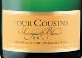 凡拉润四兄弟长相思起泡酒(Van Loveren Four Cousins Sparkling Sauvignon Blanc Brut, Robertson, South Africa)