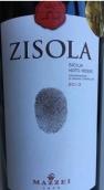 姿索拉酒庄干红葡萄酒(Marchesi Zisola Sicilia Noto Rosso DOC, Sicily, Italy)