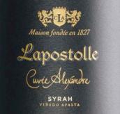 拉博丝特亚历山大系列圣约瑟西拉干红葡萄酒(Casa Lapostolle Cuvee Alexandre Syrah San Jose de Apalta, Apalta Valley, Chile)