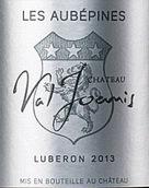 瓦尔约尼斯城堡奥贝派斯混酿干白葡萄酒(Chateau Val Joanis Cuvee Les Aubepines,Cotes du Luberon,...)