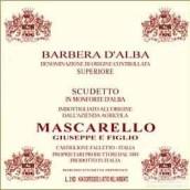朱塞佩·马斯卡雷略冠军阿尔巴巴贝拉干红葡萄酒(Mascarello Giuseppe e Figlio Scudetto Barbera d'Alba,...)