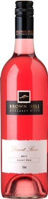 棕山甜型桃红葡萄酒(Brown Hill Estate Desert Rose Light Red,Margaret River,...)