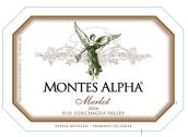 蒙特斯欧法梅洛干红葡萄酒(Montes Alpha Merlot,Colchagua Valley,Chile)