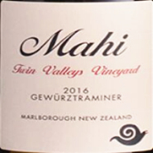 玛禧酒庄双谷园琼瑶浆白葡萄酒(Mahi Twin Valleys Vineyard Gewurztraminer, Malborough, New Zealand)