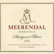 米瑞黛长相思干白葡萄酒(Meerendal Sauvignon Blanc,Durbanville,South Africa)