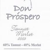 Pizzorno Don Prospero Tannat-Merlot,Canelones,Uruguay