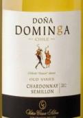 席尔瓦多纳多名戈霞多丽赛美蓉混酿干白葡萄酒(Casa Silva Dona Dominga Chardonnay-Semillon,Colchagua Valley...)