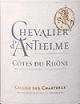 夏特尔酒庄安瑟尔姆骑士红葡萄酒(Cellier des Chartreux Chevalier d'Anthelme Rouge,Cotes du ...)