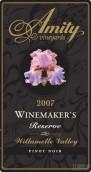 阿米蒂酿酒师珍藏黑皮诺干红葡萄酒(Amity Vineyards Winemaker's Reserve Pinot Noir,Willamette ...)