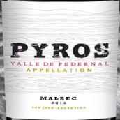 燧火马尔贝克干红葡萄酒(Pyros Malbec, Valle de Pedernal, Argentina)