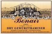 博奈琼瑶浆干白葡萄酒(Bonair Winery Dry Gewurztraminer,Washington,USA)