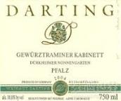 Weingut Kurt Darting Durkheimer Nonnengarten Gewurztraminer Kabinett, Pfalz, Germany