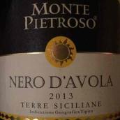 梦皮索黑珍珠干红葡萄酒(Monte Pietroso Nero dAvola,Sicily,Italy)