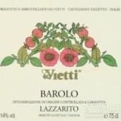 维埃蒂巴罗洛拉扎瑞托红葡萄酒(Vietti Barolo Lazzarito,Piedmont,Italy)