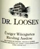 露森乌兹格园雷司令精选白葡萄酒(Dr. Loosen Urziger Wurzgarten Riesling Auslese, Mosel, Germany)