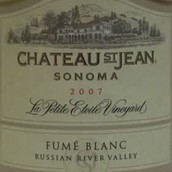 圣.让小爱泰勒园白富美干白葡萄酒(Chateau St.Jean La Petite Etoile Vineyard Fume Blanc,Russian...)