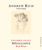 安德鲁里奇米萨廉思干红葡萄酒(Andrew Rich Vintner Mesalliance,Columbia Valley,USA)