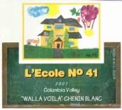 艾科勒要人白诗南干白葡萄酒(L'ecole no 41 Walla Voila Chenin Blanc, Columbia Valley, USA)