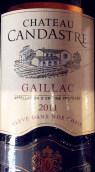 千达特酒庄干红葡萄酒(Chateau Candastre,Gaillac,France)