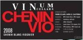 温诺姆酒窖白诗南干白葡萄酒(Vinum Cellars Chenin-Vio, California, USA)