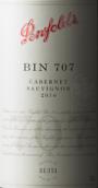 奔富Bin 707赤霞珠红葡萄酒(Penfolds Bin 707 Cabernet Sauvignon, South Australia, Australia)