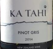 嘉泰黑皮诺干红葡萄酒(Ka Tahi Pinot Gris,Marlborough,New Zealand)