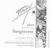 弗雷有机桑娇维塞干红葡萄酒(Frey Vineyards Organic Sangiovese, Redwood Valley, USA)