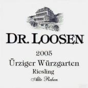 露森乌兹格园顶级老藤雷司令白葡萄酒(Dr. Loosen Urziger Wurzgarten Riesling Alte Reben Grosses Gewachs, Mosel, Germany)