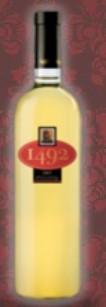 克里斯多巴1492系列霞多丽-白诗南混酿干白葡萄酒(Bodega Don Cristobal 1492 White,Mendoza,Argentina)