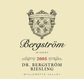 伯格斯多姆博士雷司令白葡萄酒(Bergstrom Wines Dr Bergstrom Riesling, Willamette Valley, USA)