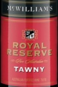 麦克威廉皇家珍藏茶色波特风格加强酒(McWilliam's Royal Reserve Tawny, South Eastern Australia, Australia)