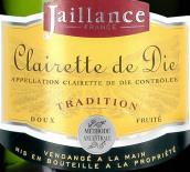 蒂埃酒庄传统起泡酒(Cave de Die Jaillance Clairette de Die Tradition,Rhone,...)