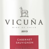 干露羊驼赤霞珠红葡萄酒(Vicuna Cabernet Sauvignon, Central Valley, Chile)