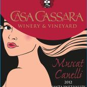 卡萨麝香干白葡萄酒(Casa Cassara Winery Muscat Canelli,Santa Ynez Valley,USA)