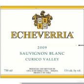 埃切维里亚经典长相思干白葡萄酒(Echeverria Classic Sauvignon Blanc, Curico Valley, Chile)