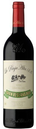 橡树河畔904特级珍藏干红葡萄酒(La Rioja Alta S.A.Gran Reserva 904,Rioja,Spain)