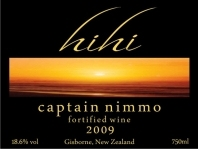 嗨嗨尼姆船长波特风格加强酒(Hihi Captain Nimmo Fortified Wine,Gisborne,New Zealand)