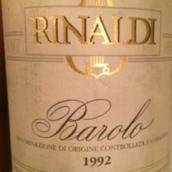 里纳尔迪巴罗洛珍藏干红葡萄酒(Giuseppe Rinaldi Barolo Brunate Riserva,Barolo DOCG,Italy)
