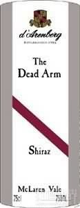 黛伦堡枯藤西拉干红葡萄酒(d'Arenberg The Dead Arm Shiraz,McLaren Vale,Australia)