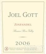 乔尔戈特仙粉黛干红葡萄酒(俄罗斯河谷)(Joel Gott Wines Zinfandel, Russian River Valley, USA)