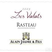 阿兰豪大猎人园莱斯瓦拉特干红葡萄酒(Alain Jaume&Fils Domaine Grand Veneur Les Valats,Rasteau,...)