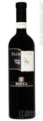 安吉洛罗卡普里米蒂沃干红葡萄酒(Angelo Rocca Primitivo Salento IGT,Puglia,Italy)
